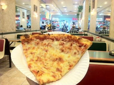 """Nothing says """"mall food'' more than a slice of pizza (Peter Genovese I NJ Advance Media for NJ.com)"""