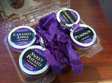 The attractively-packaged mini-cheesecakes from Euphoria in a Jar, Cherry Hill Mall (Peter Genovese I NJ Advance Media for NJ.com)