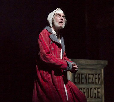 A scene from 'A Christmas Carol' at McCarter Theatre Center. (T. Charles Erickson)
