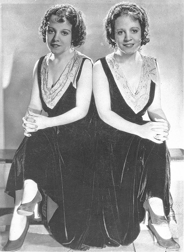 The career of Violet, left, and Daisy Hilton is a snapshot of old-time live entertainment forms, such as vaudeville and the sideshows.