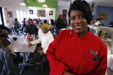 Vonda McPherson, owner of Vonda's Kitchen in Newark (Robert Sciarrino/The Star-Ledger)