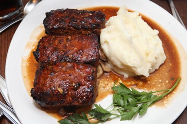 The famous meat loaf from Tops Diner (Alex Remnick/The Star-Ledger)
