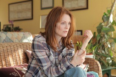 """Julianne Moore is a contender for the Golden Globe for best actress in a drama for """"Still Alice."""""""