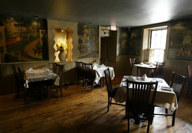 The dining rooms at the Stockton Inn are the epitome of cozy (Tim Farrell I The Star-Ledger)