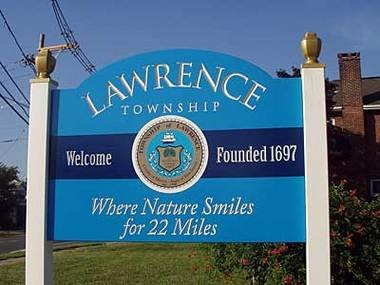 The Lawrence Township clerk says former Mayor Joseph DallePazze, who served in the '70s and '80s, is credited with coining this phrase, which refers to the township's size. (Courtesy Lawrence Township)