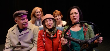 """In the Car with Blossom and Len"" runs through March 8."