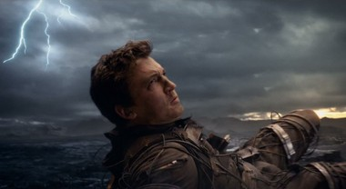 Miles Teller gets to do the superhero thing as Reed Richards in the new 'Fantastic Four'