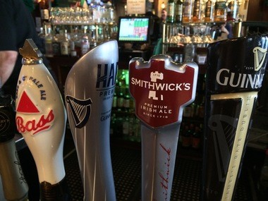 You can't go wrong with any of these. Taps, Dublin Pub, Morristown (Peter Genovese I NJ Advance Media for NJ.com)
