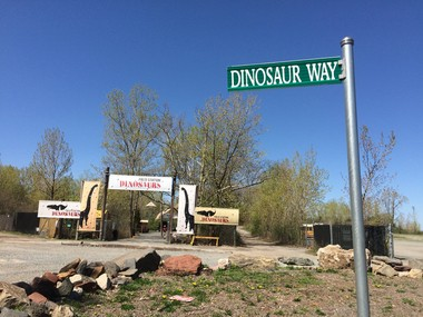 What will become of Dinosaur Way? (Amy Kuperinsky | NJ Advance Media for NJ.com)