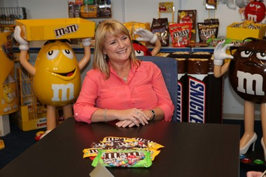 Tracey Massey, president of Mars Chocolate North America. (Mars)