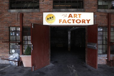 The Art Factory in Paterson, an artists' studio space on Spruce Street at the site of a former textile mill, will be the new home of the Alexander's mural. (Frances Micklow/The Star-Ledger)