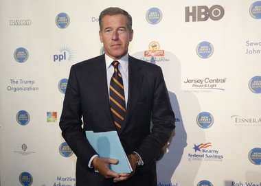 Brian Williams at the New Jersey Hall of Fame induction ceremony in November. (Amanda Marzullo | NJ Advance Media for NJ.com)