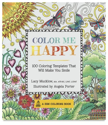 Zen Coloring Books' 'Color Me Happy.' (Race Point Publishing)