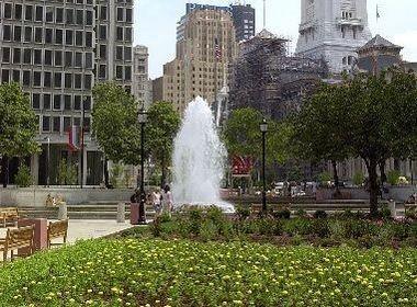 Love Park in JFK Plaza in Philadelphia. (File photo)