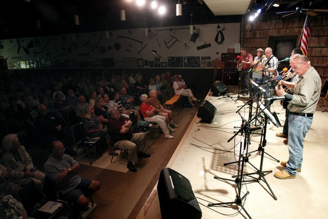 Albert Hall in Waretown hosts the Ocean County Bluegrass Festival on Sept. 13. (Aristide Economopoulos/The Star-Ledger)