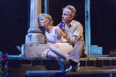 """Susannah Hoffman and Robert Joy in """"Baby Doll,"""" now in performances at the McCarter Theatre in Princeton."""