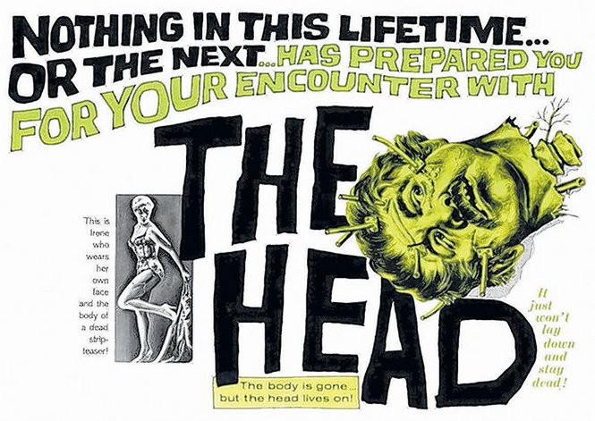 """Despite its ludicrous plot about head-transplanting, the German horror film """"The Head"""" was written and directed by an Oscar nominee."""