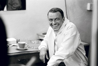 A file photo of Frank Sinatra, who would have been 100 years old Dec. 12. (Terry O'Neill)