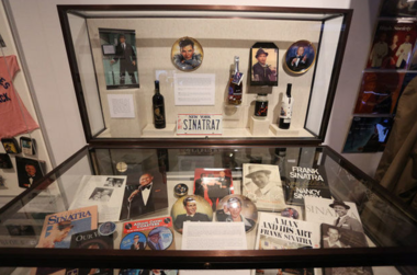 """Since August, the Hoboken Historical Museum has hosted a commemorative exhibit titled """"Frank Sinatra: The Man, The Voice and The Fans."""" (Michael Dempsey 