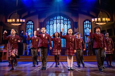 """The extraordinary children's ensemble of Andrew Lloyd Webber's """"School of Rock"""" is the highlight of this sweet and likable new musical."""
