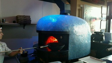 Dig the crazy blue oven at Porto by Antonio in North Bergen (Peter Genovese I NJ Advance Media for NJ.com)