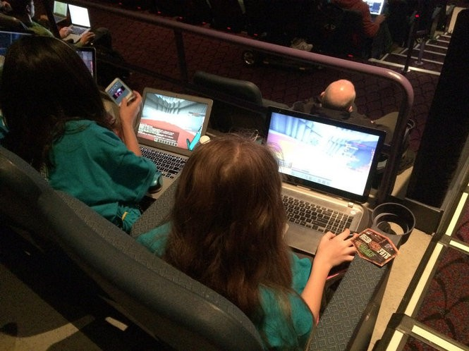 Where there are Minecraft kids there are also Minecraft parents. (Amy Kuperinsky | NJ Advance Media for NJ.com)