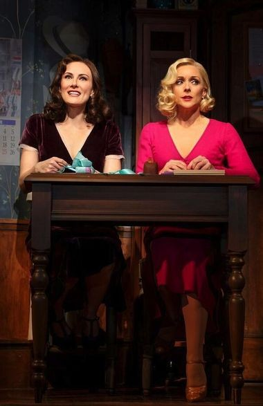 """Jersey actresses Laura Benanti and Jane Krakowski perform """"I Don't Know His Name"""" in the musical """"She Loves Me,"""" currently playing at Studio 54 in New York. (Joan Marcus)"""
