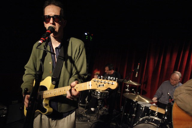 The Feelies (singer-guitarists Glenn Mercer and the rest of the band perform at Maxwell's in Hoboken in this file photo. (Saed Hindash/The Star-Ledger)