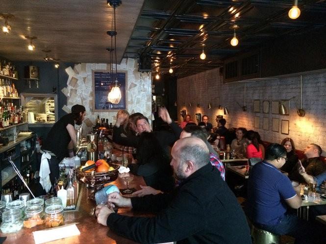 Inside Dullboy cocktail bar and restaurant in Jersey City. March 18, 2016. (Bobby Olivier | NJ Advance Media for NJ.com)