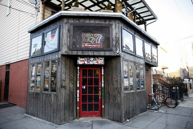 Lucky 7 Tavern, in Jersey City. (Neil Barris/File photo)