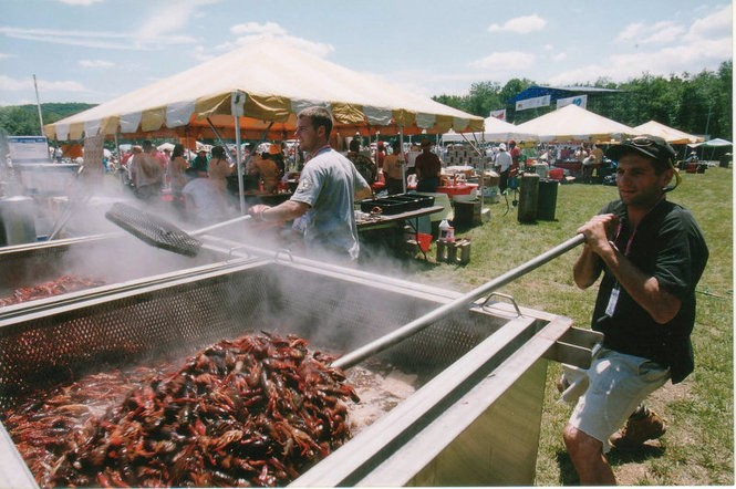 Michael Arnone's Crawfish Fest is a favorite at Sussex County Fairgrounds. (Star-Ledger file photo)