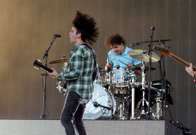 The 1975 will be at The Shadow of the City music festival in Seaside Heights. (Kevin Winter/Getty Images)