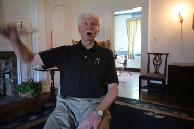 """Matawan, NJ town historian John Savolaine discusses the 1916 New Jersey shark attacks which took place in Bradley Beach, Spring Lake and Matawan. Savolaine is the author of a new book about one of the Matawan victims entitled """"Stanley Fisher: Shark Attack Hero of a Bygone Era."""" (Brian Donohue 