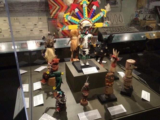 "The ""Undaunted Spirit: Native American Art"" exhibit at the Montclair Art Museum on June 10, 2016. (Sydney Shaw | NJ Advance Media for NJ.com)"