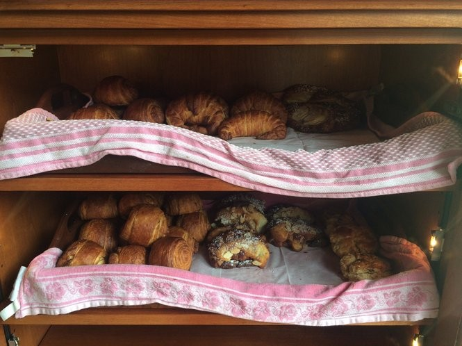 An assortment of croissants at The Little Chef pastry shop. (Sydney Shaw | NJ Advance Media for NJ.com)