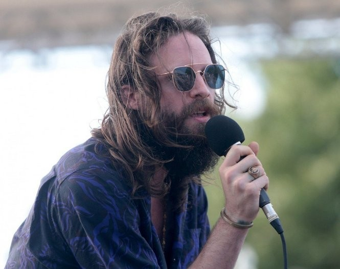 Josh Tillman, performing solo as Father John Misty, disappointed many fans during his bizarre rant at XPoNential Festival in Camden. (Tim Hawk | For NJ.com)