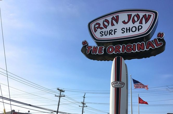 The Original Ron Jon Surf Shop was established in Ship Bottom in 1961. Today's surfing emporium is more than 8,000 square feet of shopping fun.