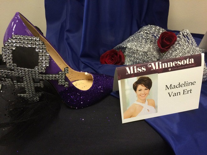 Miss Minnesota's tribute to Prince. (Amy Kuperinsky | NJ Advance Media for NJ.com)