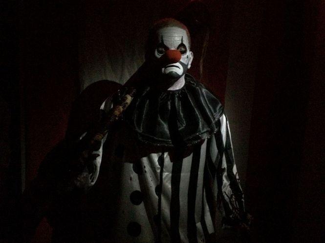 Haunted Scarehouse in Wharton has your evil clown right here. (Amy Kuperinsky | NJ Advance Media for NJ.com)