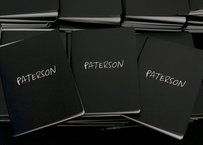 'Paterson' notebooks were handed out to members of the audience at the Rutherford screening. (Teresa Pyskaty | OMJ.com)