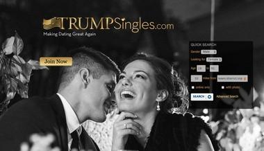 TrumpSingles.com has recently seen a bump in membership, its president says. (TrumpSingles.com)