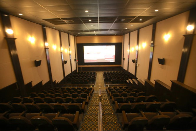 Inside the Princeton Garden Theatre in Princeton, the winnerin NJ.com's search for New Jersey's best movie theater. Feb. 21, 2017. (Bobby Olivier | NJ Advance Media for NJ.com)