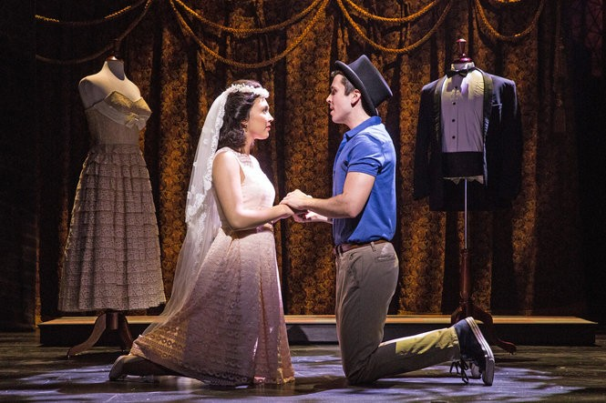"Matt Doyle starred in the Paper Mill Playhouse's 2016 production of ""West Side Story"" with Belinda Allyn."