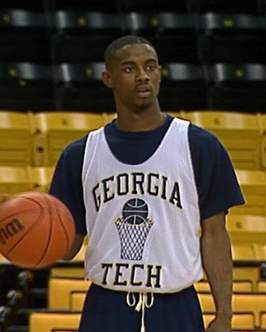 Kenny Anderson in his Georgia Tech days, before he was drafted by the Nets. (Courtesy of Abramorama/BMG Brokers)