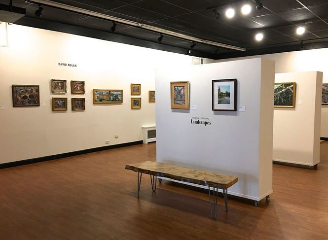 Pitman Gallery and Art Center in Pitman, April 26, 2017. (Kelly Roncace | For NJ.com)