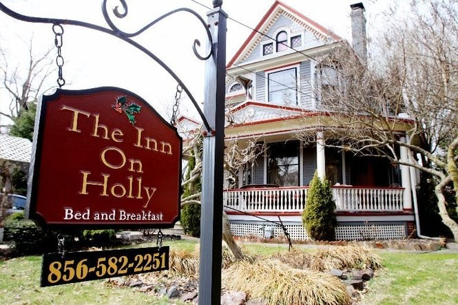 The Inn on Holly bed and breakfast in Pitman. (Photo by Calista Condo)