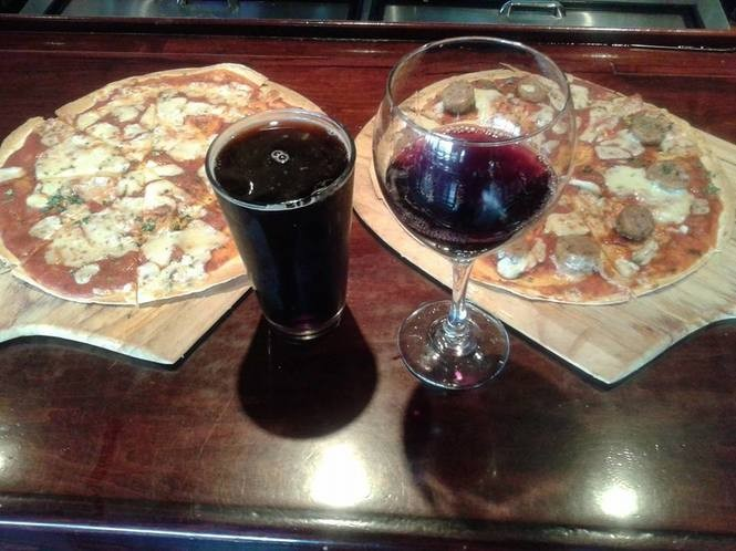 Thin crust pizza at PB's Diner and Tap Room in Glassboro. (Photo provided)