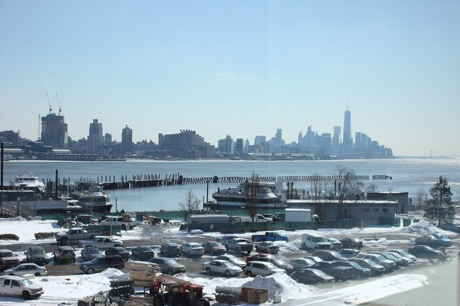 A view from RiverParc, located at 1300 at Port Imperial, in Weehawken. (Kathryn Brenzel | NJ Advance Media)
