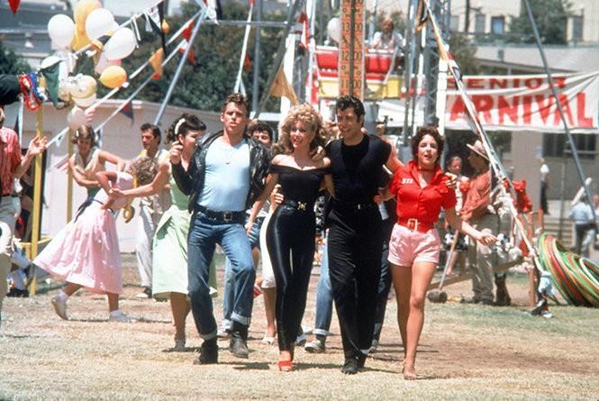 f4045b5ae0 From left: Jeff Conaway, Olivia Newton-John, John Travolta and Stockard  Channing