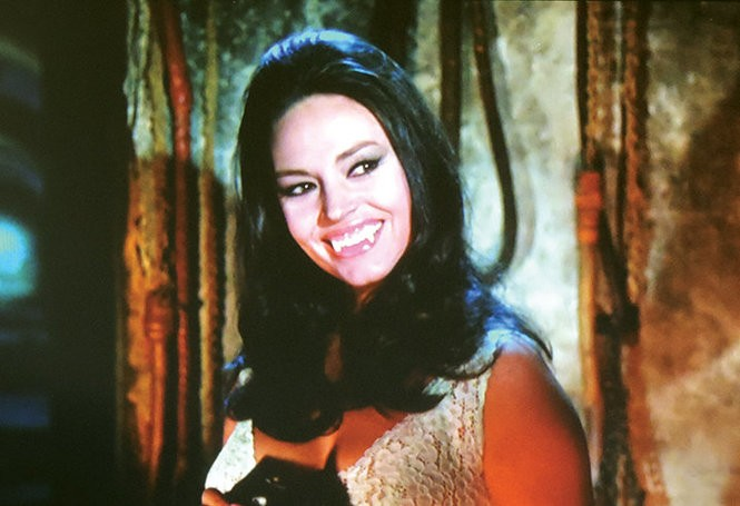 "Diana Lorys in ""Fangs of the Living Dead."""